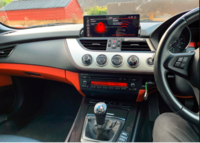 BMW Z4 E89 2009-2015 Android multimedia and navigation screen with Idirve